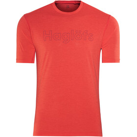 Haglöfs M's Ridge Tee Pop Red